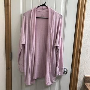 **CUDDL DUDS SOFTKNIT LIGHT PINK WRAP**